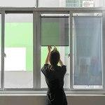 XYUfly20 Pare-Soleil Télescopique Stores À Ventouse Stores Pare-Soleil Tissu PVC + Tige en Métal, Durable, Anti-Ultraviolet pour La Protection Solaire (Color : Silver, Taille : 58×125cm)