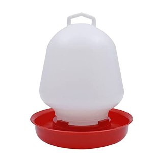 Yousiju Poulet à Bulles Rondes Dispositif de Fontaine à Boire Suspendue Tasse d'eau Bol d'épingle de volaille d'animaux de Compagnie d'alimentation Animale (Size : 1500ml)