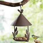 Yousiju Restaurant à l'oiseau fer à repasser Emaresproof Susproof Style de suspension Pet Bird Fear pour diverses oiseaux d'animaux de compagnie Fournitures de jardin extérieures Décor du jardin extér