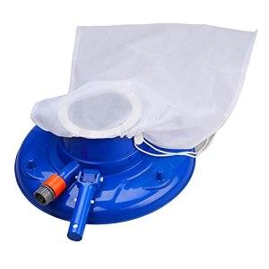 YYQQ Piscine Aspirateur Portable Accueil Piscine Pond Mini Jet Tête de Vide Nettoyage Baignoire Aspirateur Piscine Piscine à Vide avec Brosse, Sac