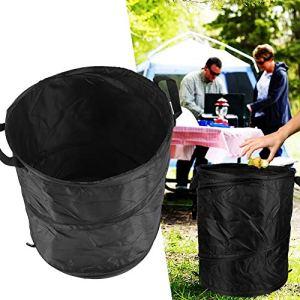 Zhjvihx Poubelle à ordures, Poubelle de Barbecue, Poubelle de Camping à ordures, Accessoire de Barbecue pour Outils de Pique-Nique en Plein air de Jardin de déchets de pelouse et de Jardin