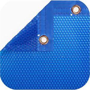 International Pool Protection pack Bâche thermique de 600microns + enrouleur Télescopique de 81 mm 10 x 3.5m.