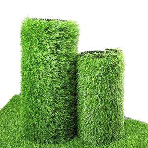 PDJSHOP Herbe Artificielle De Haute Densité De Pile De 30mm, Herbe Synthétique Synthétique De Tapis De Paille De Faux Jardin Réaliste Et Épais (Size : 2x8m)