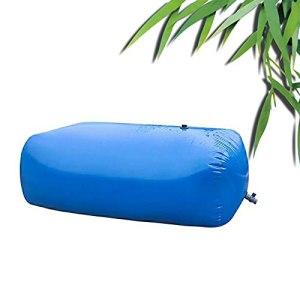 Sac D'eau Pliant, Extérieur Sac D'eau Pliable, Tissu PVC Anti-soleil Et Pluie, Pour L'utilisation De L'eau D'irrigation, Personnalisable ( Color : Blue , Size : 3000L/2.5×1.5×0.8m )