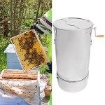 Extracteur de miel manuel, grand extracteur de miel pratique et durable efficace pour la famille