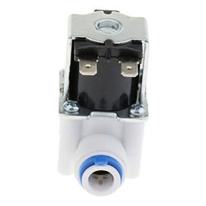 F Fityle 3/8 Système de RO Normalement Fermé de L'électrovanne de l'eau du Pouce 24V N/C