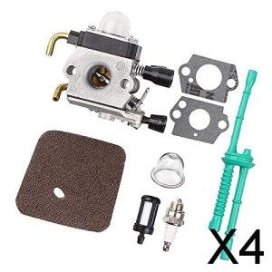 Fenteer Kit Carburateur 4X pour FS38 FS45 FS45C FS45L FS46 FS55#4140 120 0612