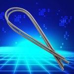 Fil de bobine d'élément chauffant, fil de haute résistance argenté résistant aux hautes températures AC 220V Sèche-linge Restring pour petit four électrique