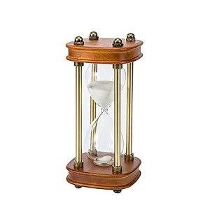 GJZXXL 30 Minutes, Montre De Sable en Laiton Rotatif à 360 °, Utilisé pour La Décoration De Bureau à Domicile