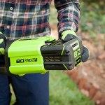 Greenworks Tools 80V 4Ah G80B4 Batteries Lithium-ION pour Tondeuse à Gazon sans Fil Taille-haie Taille-haie tronçonneuse souffleur de Feuilles