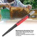 LIUTT Stylo de grattage d'abeilles grattoir d'apiculture Multifonctionnel Outil de greffage d'élevage Accessoire d'apiculteur Kit d'apiculture