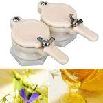 MOVKZACV Robinet à miel en plastique fileté – Outil d'apiculture – Équipement d'apiculture