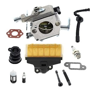 MQEIANG Kit de filtre à air de carburateur pour tronçonneuse Stihl MS210 MS230 MS250 021 023 025