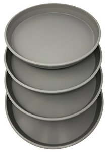 Plastique Rond De Pot Plateau 40,6cm (Couleurs assorties) Lot de 4unités par Matri Ciment