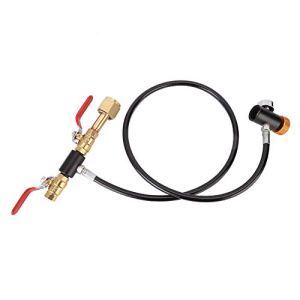 Surebuy Adaptateur de Recharge de CO2, Adaptateur de Recharge en Acier Inoxydable pour réservoir de CO2 de connecteur