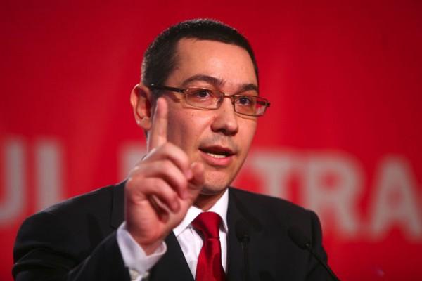 Ponta vorbește de salvarea locurilor de muncă ale minerilor