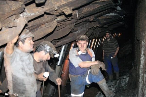 Accident de muncă în subteranul EM Lupeni