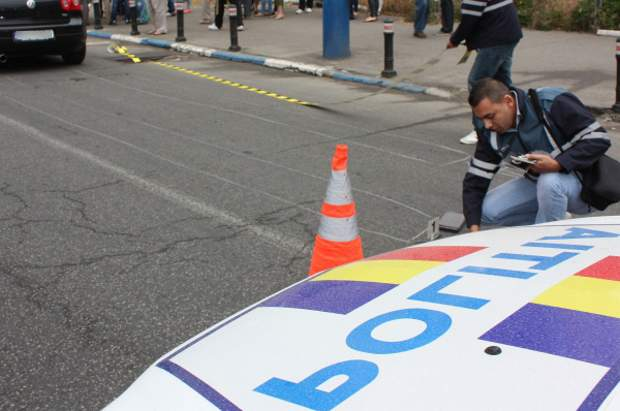 DEVA. Accident rutier pe bulevardul Mihail Kogălniceanu