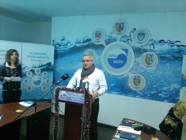 Apa Serv Valea Jiului a încheiat anul pe plus