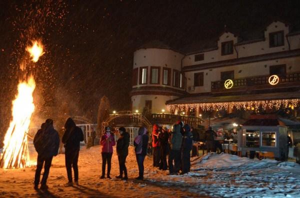 Crăciun autentic în munții Parâng