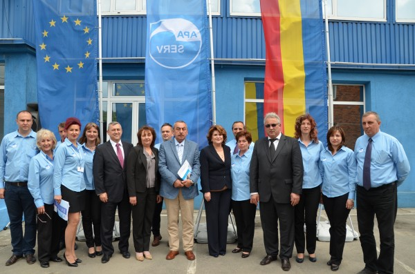 Costel Avram, Gheorghe Ile și Rovana Plumb au semnat pentru 90 de milioane de euro pentru apa din Valea Jiului