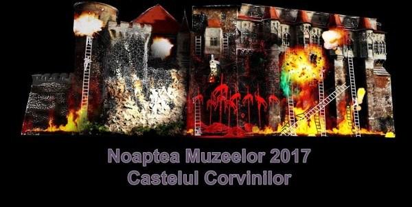 """""""Noaptea muzeelor"""" la Castelul Corvinilor"""