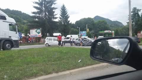 Ultimă Oră. Accident înfiorător la ieşirea din municipiul Petroşani