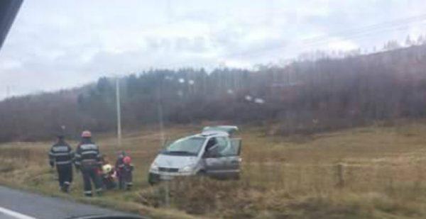 Val de accidente între Petroşani şi Hațeg