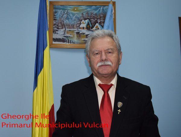 Scrisoarea anuală către cetățeni a primarului municipiului Vulcan, ing. Gheorghe Ile / Sinteza activităților din 2017