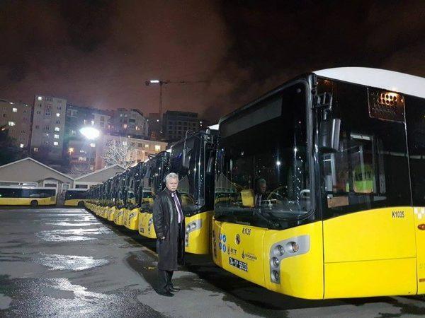 Vulcanul testează piața europeană a producătorilor de autobuze online