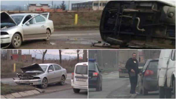 Fostul șef al BCCO Alba, Traian Berbeceanu, implicat într-un accident rutier pe centura Devei – a lovit cu maşina un microbuz care s-a răsturnat