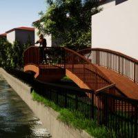 Malul pârâului Brăița din Lupeni va fi transformat în zonă de promenadă