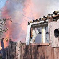Incendiu la Lupeni, pe strada Griviței