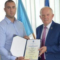 Sportivul Alexandru Preda, cetățean de onoare al Vulcanului la 22 de ani