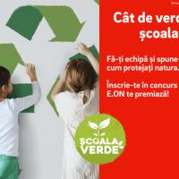 """E.ON lansează concursul național """"Școala Verde"""", dedicat ideilor ECO-responsabile"""
