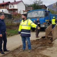 Investițiile publice derulate în cartierul Ștefan din Lupeni se desfășoară conform graficului