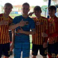 Victorie a echipei de fotbal Lecce în campionatul italian Primavera 2, cu Alex Borbei și alți 3 români titulari