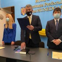 Reprezentanții Guvernului în județul Hunedoara au depus jurământul