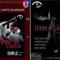 Lansare de carte și o nouă premieră la Teatrul de Artă din Deva