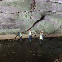 Angajați ai Apa Serv, ecologiști voluntari la Peștera Bolii