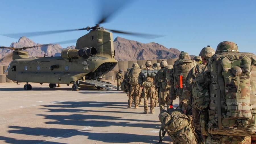 2021 - ritirata yankee dall'Afghanistan