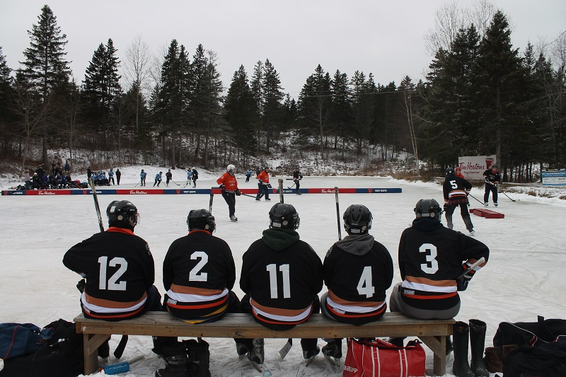 Long Pond, Long Pond Heritage Classic, Birthplace of Hockey, Windsor, Nova Scotia, Avard Woolaver