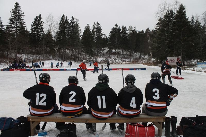 Long Pond, Long Pond Heritage Classic, Birthplace of Hockey, Windsor, Nova Scotia, Avard Woolaver