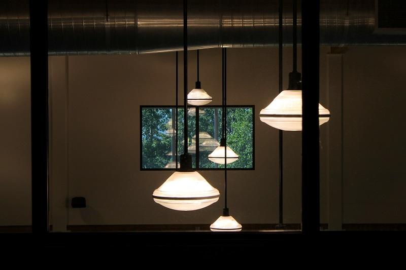 surreal, lights, window, Avard Woolaver
