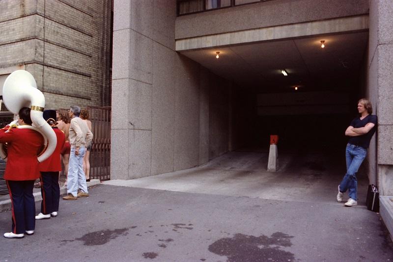 surrealism, humour, toronto, marching band, 1983, Toronto, Avard Woolaver