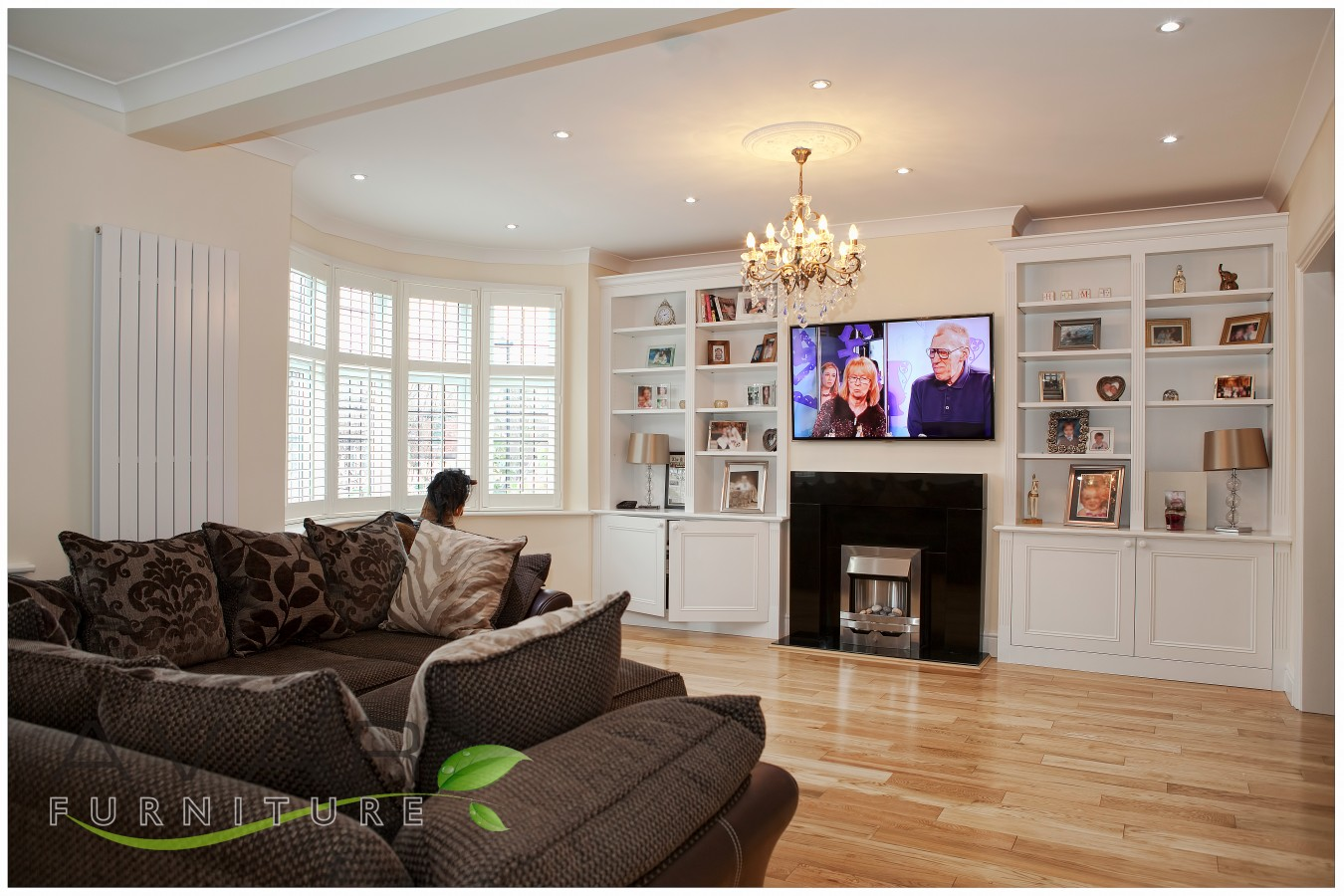 furniture ideas for living room alcoves with grey wood floors ƸӜƷ alcove units / gallery 3 | north london, uk ...