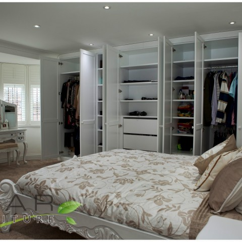 Fitted wardrobe ideas  Gallery 7  North London UK