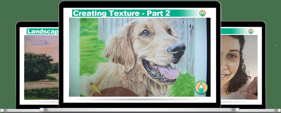 Colored Pencil Course HD Videos