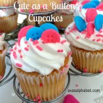 Cute as a Button Cupcakes