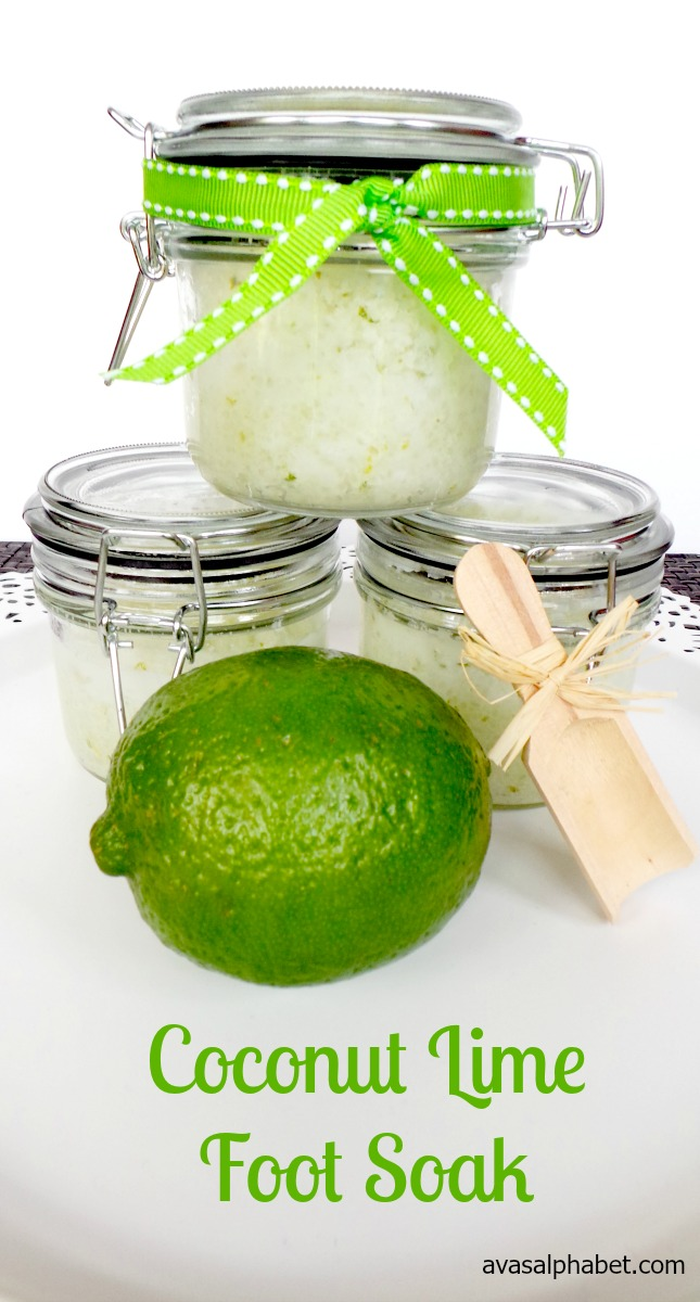 Coconut Lime Foot Soak